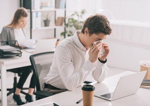 Pollenvaccin kan minska sjukfrånvaron på jobbet