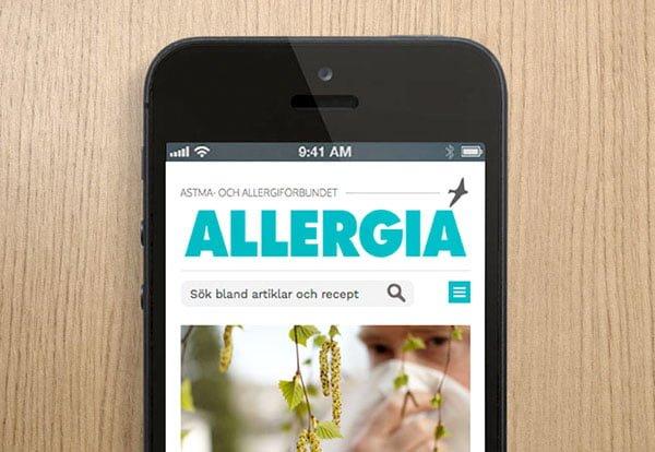 Bild för Medlemstidningen Allergia
