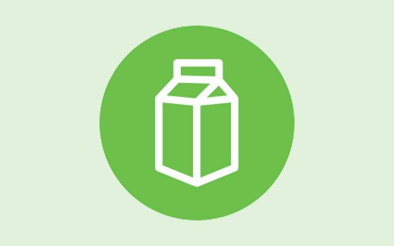 Bild för information och råd laktosintolerans