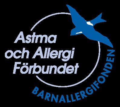 Logotyp Barnallergifonden Astma- och Allergiförbundet
