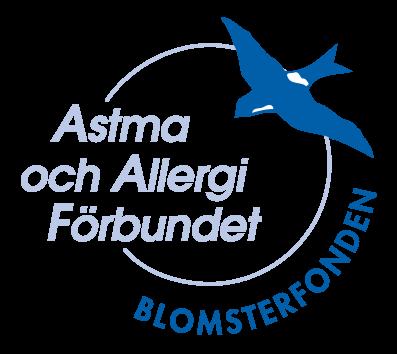 Logotyp Blomsterfonden Astma- och Allergiförbundet