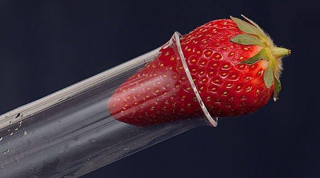 Forsknignsfonden jordgubbe i provrör