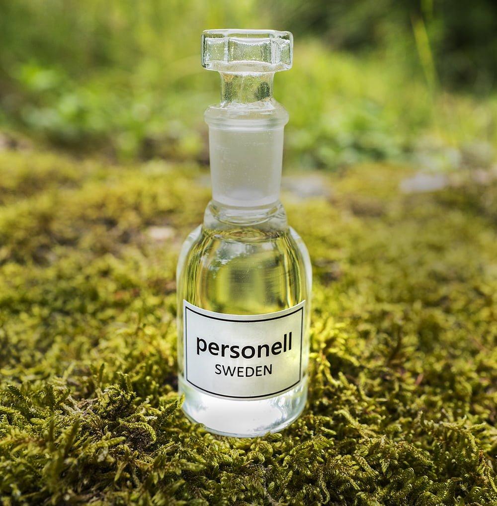 Personell - en doftfri parfym för att hylla Parfymfria veckan.