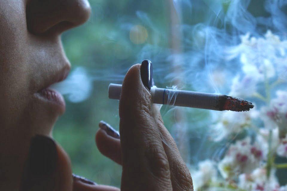 Rökning utomhus