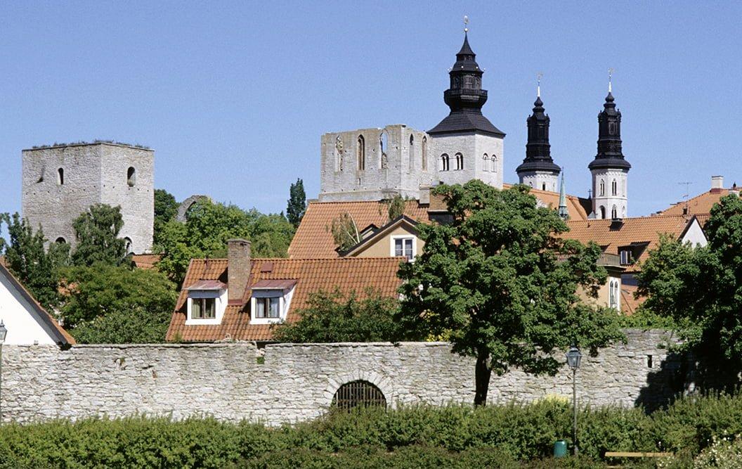 Bild på Visby, Gotland