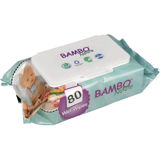 Bambo nature Wetwipes80-pack