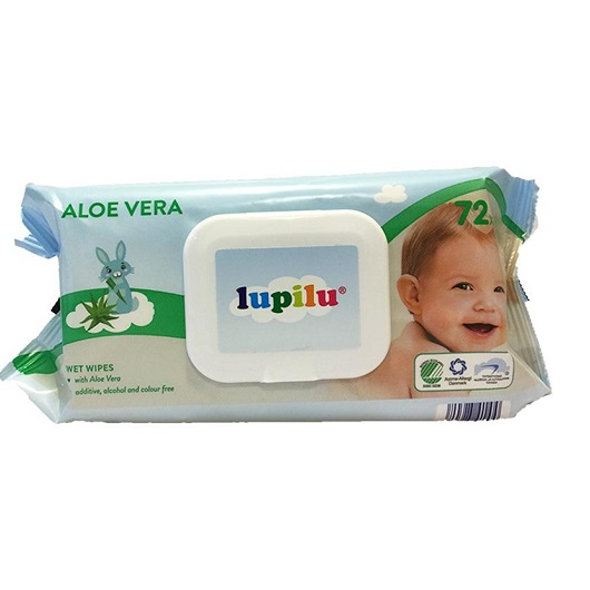Lupilu Aloe Vera wet wipes