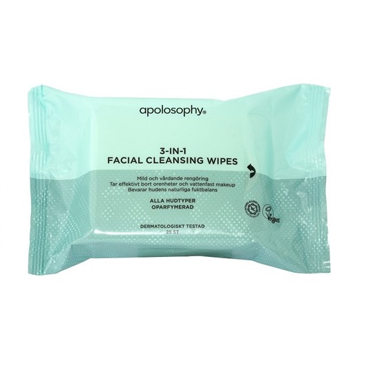 Face 3 in 1 facial wipes